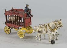 Kenton Cast Iron Circus Wagon Toy