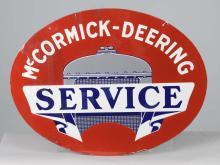 McCormick Deering Service Sign
