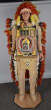 5¢ Dick Delong Indian Chief Slot Machine