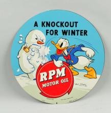 RPM Motor with Donald Duck SST Sign.