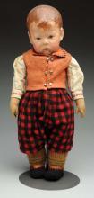 Pouty Kathe Kruse Doll I Child.