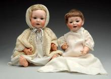 Lot Of 2: German Baby Dolls.