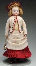 Sweet German Bisque Doll.