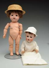 Lot Of 2: German Dolls.