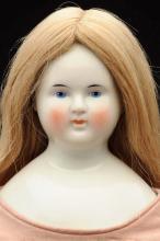 Stately German China Lady Doll.
