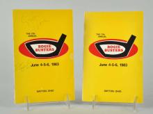 Lot Of 2: 1980s Autographed Golf Programs.