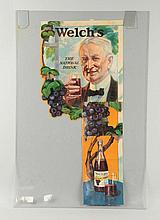 Two Piece Welch's Grapelade Display.