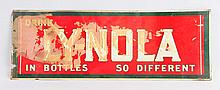 Ly-Nola Soda Tin Sign.