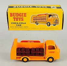 1950s Budgie Toys Coca-Cola Truck.