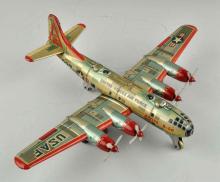 Tin Litho Friction Boeing B-55O Superfortress.