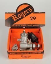 Rogers Vintage Toy Airplane Motor.