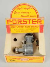 Forster Vintage Model Airplane Engine.