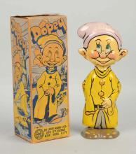 Marx Tin Litho Walt Disney Dopey Walking Toy.