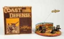 Marx Tin Litho Wind-Up Coast Defense Toy.