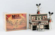 Marx Tin Litho Wind-Up Merry Makers Band Toy.