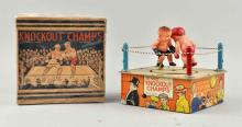 Marx Tin Litho & Celluloid Wind-Up Knockout Champs