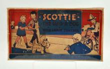 Marx Tin Litho Wind-Up Scottie Toy Dog.