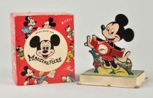 Walt Disney Mickey Mouse Character Wrist Watch.