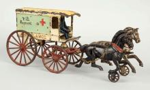 Kenton 7th Regiment Horse Drawn Ambulance.