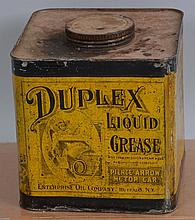 Duplex Liquid Grease: Pierce-Arrow Motor Car Can.
