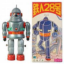 Contemporary Japanese Tetsujin Robot.