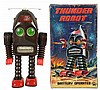 Tin Painted Thunder Robot.