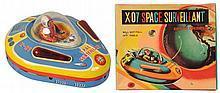 Tin Litho X-07 Space Surveillant.