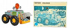 Tin Litho & Plastic Lunar Explorer.