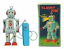 Tin Litho & Painted Tin Flashy Jim.