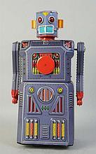 Tin Litho & Painted Tin Target Robot.