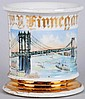Manhattan Bridge Shaving Mug.