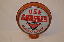 Use Grasses Gasoline with Independent Logo.