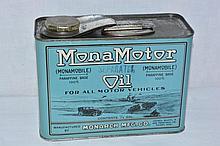 Mona Motor Oil Half-Gallon.