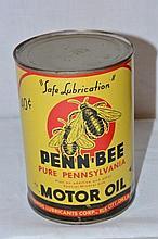 Penn-Bee Motor Oil.