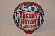 Socony Motor Gasoline 16.5