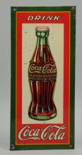 1930's Coca-Cola Tin Litho Advertising Sign.
