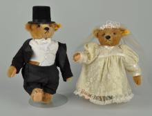 Steiff Bride & Groom Wedding Bears.