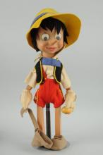 Modern Wooden Pinocchio Doll.