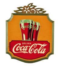 1930's Coca - Cola Kays Display Sign.