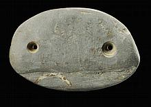 Oval Gorget.