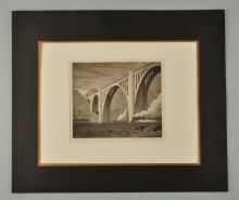 Early 20th Century Etching