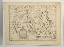 18th Century British Map.