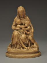 Madonna And Child Sculpture.