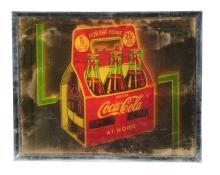 Exceedingly Rare 1940's Coca - Cola Lighted Sign.