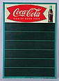 1958 Coca-Cola Tin Menu Board.