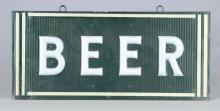 Beer Hanging Lighted Advertising Sign