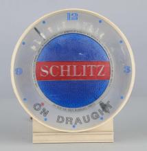 Schlitz Beer Lighted Advertising Clock