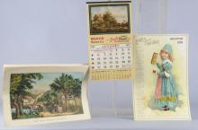 Lot of 24: Assorted Advertising Calendars
