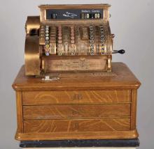 National Cash Register Brass Model 95