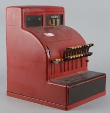 Red Steel Cash Register